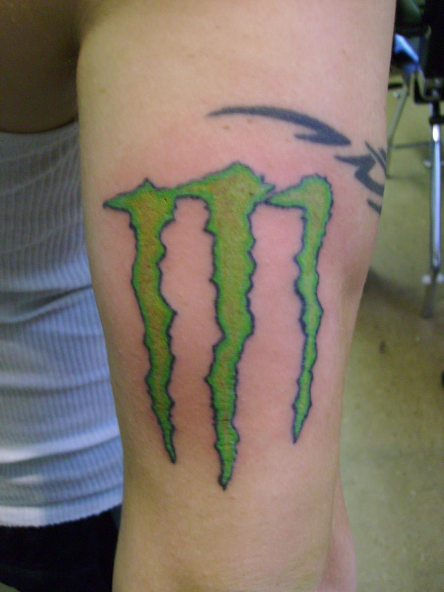 Monster Logo Tattoo By Narcissustattoos On Deviantart