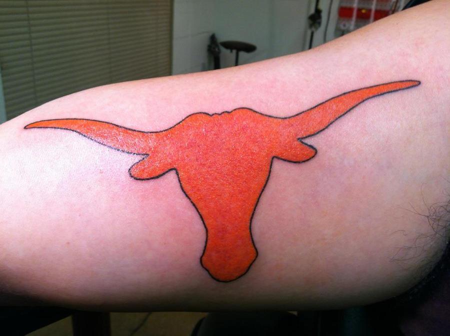 Longhorn tattoos car interior design for Texas longhorn tattoo