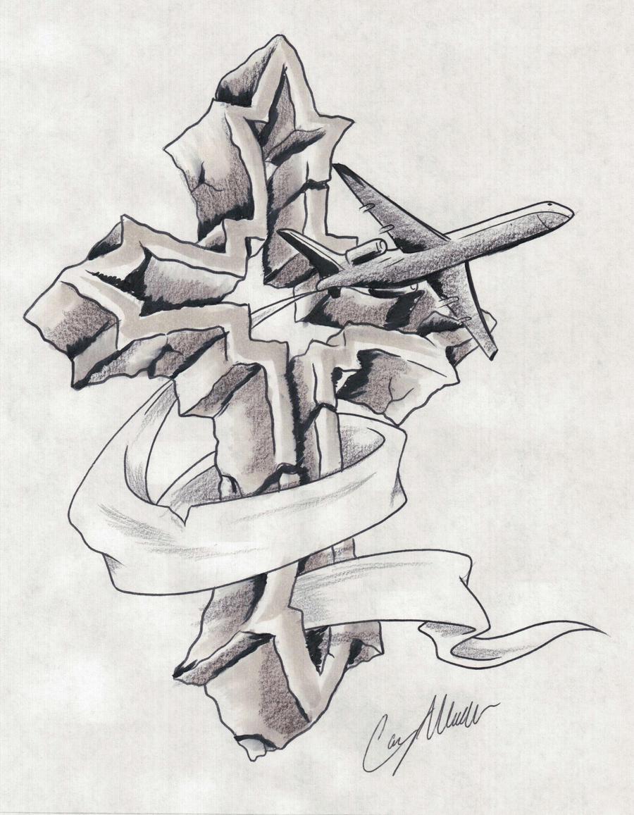 911 memorial tattoo design by narcissustattoos on deviantart. Black Bedroom Furniture Sets. Home Design Ideas