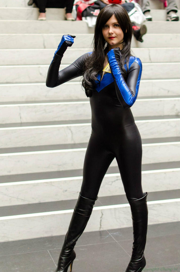 Female Nightwing Costume & Nightwing Is Always Ready By