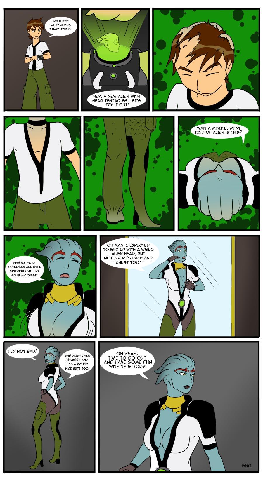 COM: A New Alien by Diggerman on DeviantArt