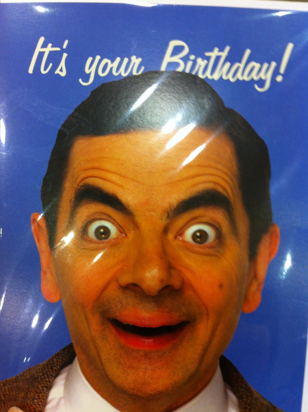 Mr Bean Happy Birthday Card by kakashinarutorules on DeviantArt – Bean Birthday Card