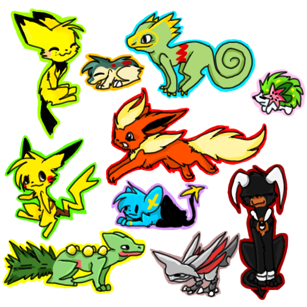 Pokemon Requests by Thunderclap12