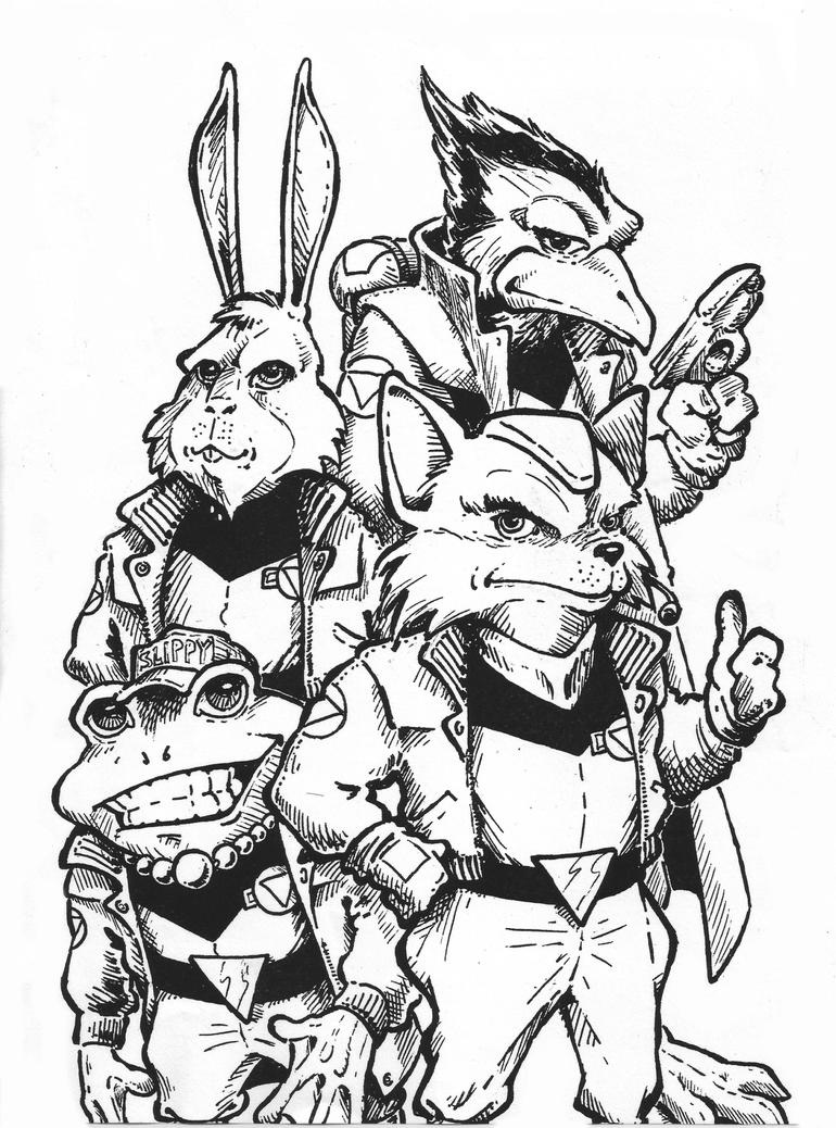 Starfox N64 Promo by AtomicKnight