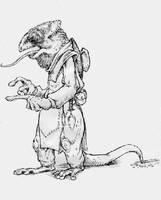Twisted Alice: Bill the Lizard by AtomicKnight