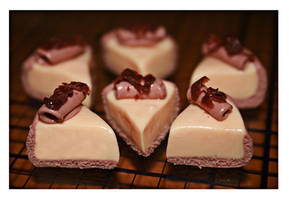 Creamy Chocolate Cheesecakes by bettenoir87