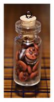 Miniature Cookie Jar Charm by bettenoir87