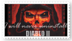 Diablo II Stamp by bettenoir87