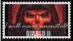 Diablo II Stamp by bettenoir87