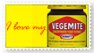 I love vegemite stamp by bettenoir87