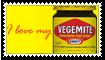 I love vegemite stamp by bettenoir87