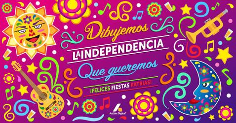 Dia de la independencia Postal Web