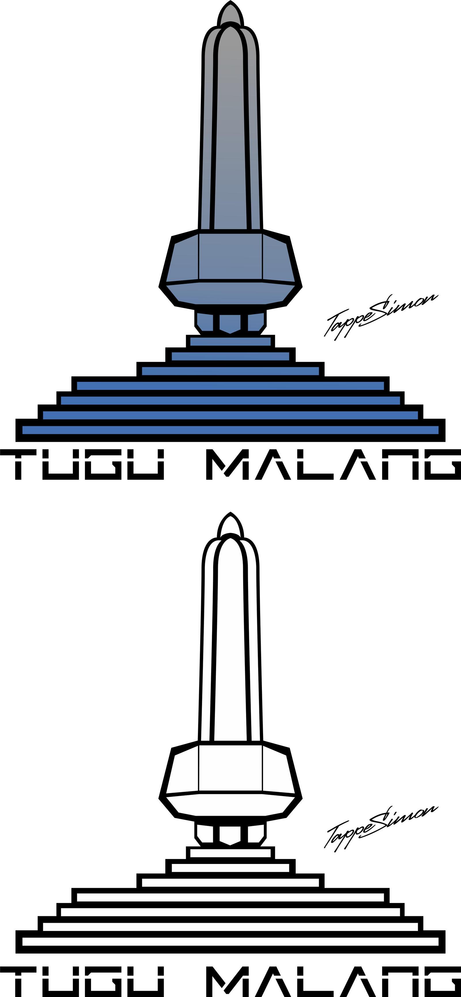 Tugu Malang Vector By Tappesimonsiza On Deviantart
