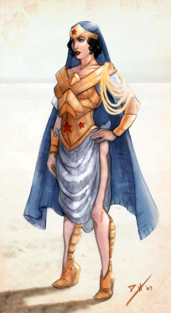 OLD: Wonder Woman Redesign by DanielHeard