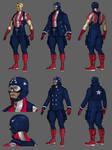Captain America Redesign WIP