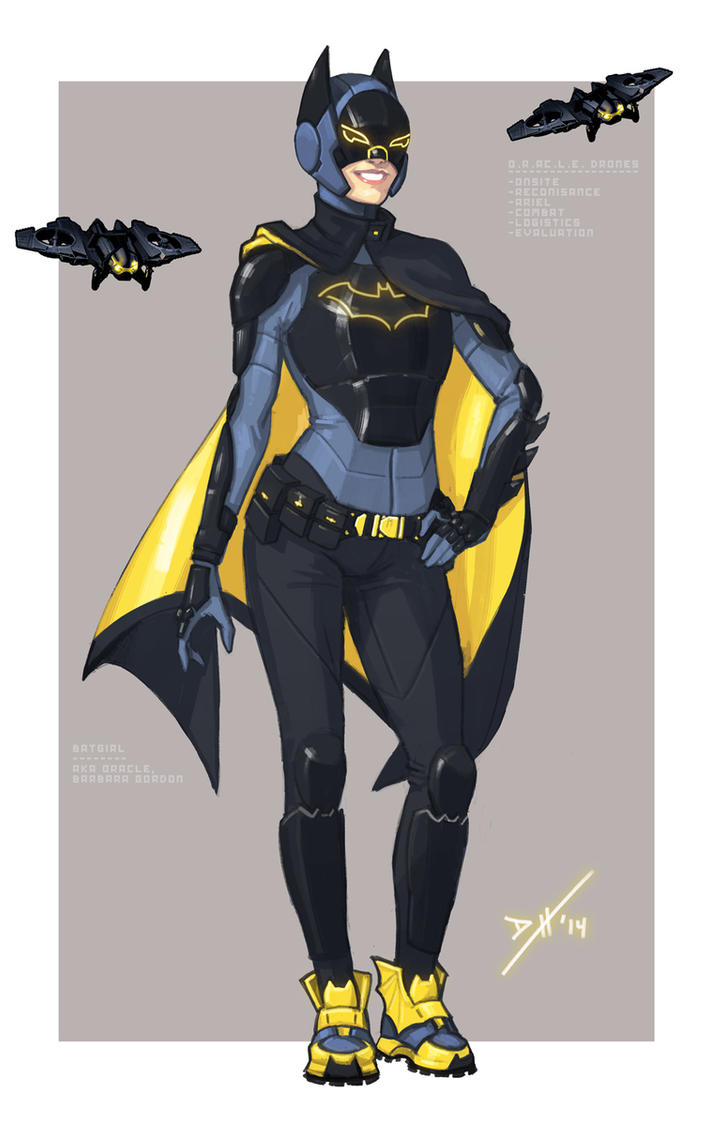Batgirl Redesign by DanielHeard