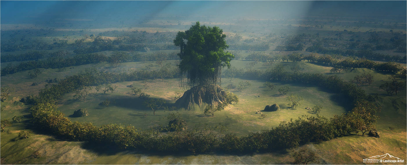 Tree Of Life by 3DLandscapeArtist