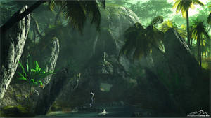 Skull Island by 3DLandscapeArtist