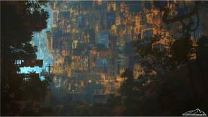 Fallen Empire by 3DLandscapeArtist