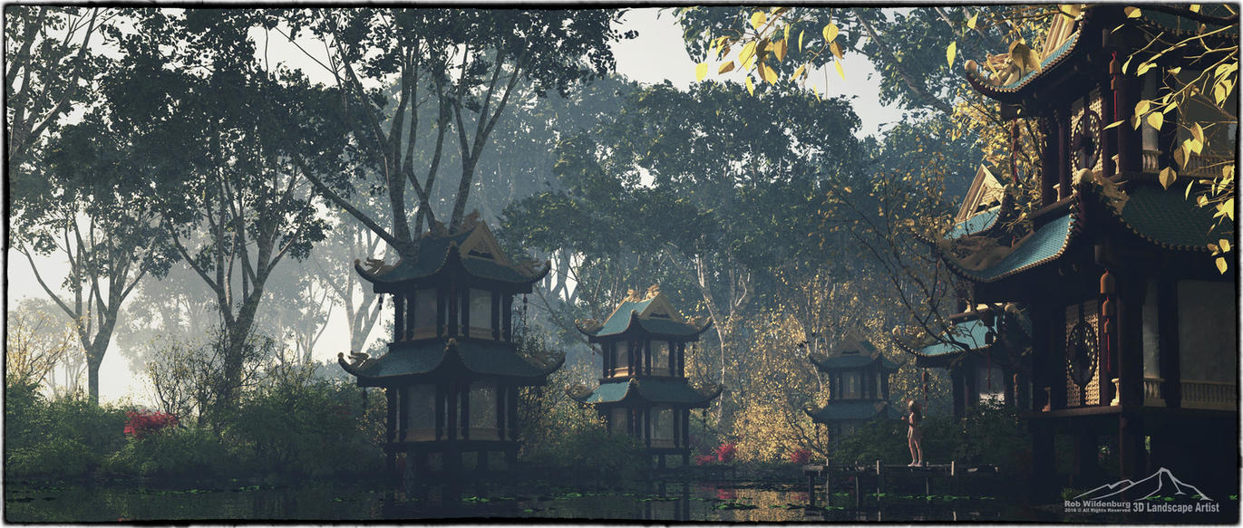 Early Morning by 3DLandscapeArtist