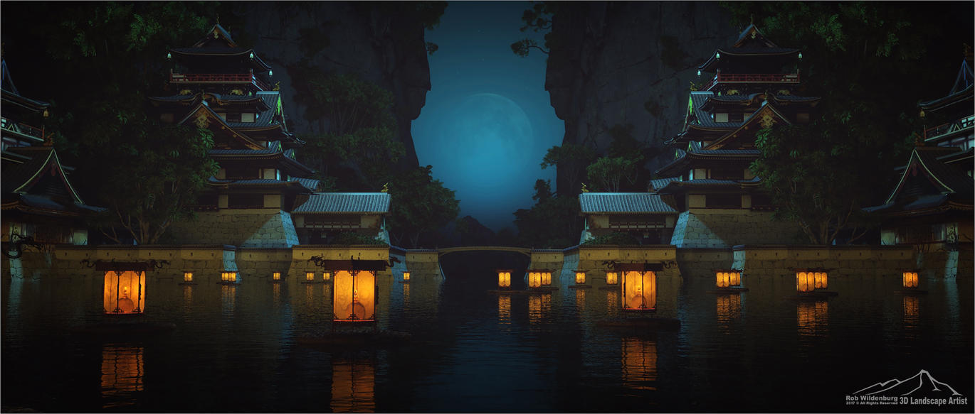 Floating by 3DLandscapeArtist