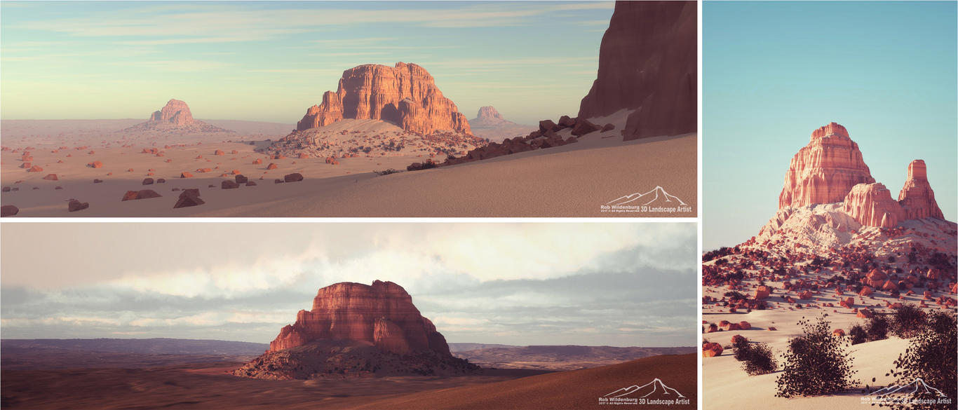 Pillars by 3DLandscapeArtist