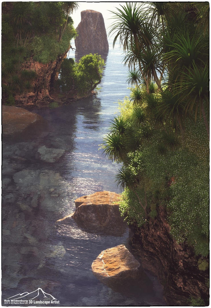 Tropical Islands by 3DLandscapeArtist