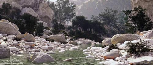 Corsica River prt. 1 by 3DLandscapeArtist