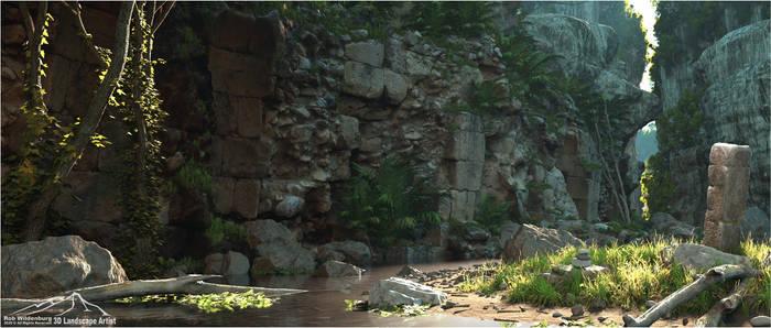 Jungle Ruins - The Secret Gorge