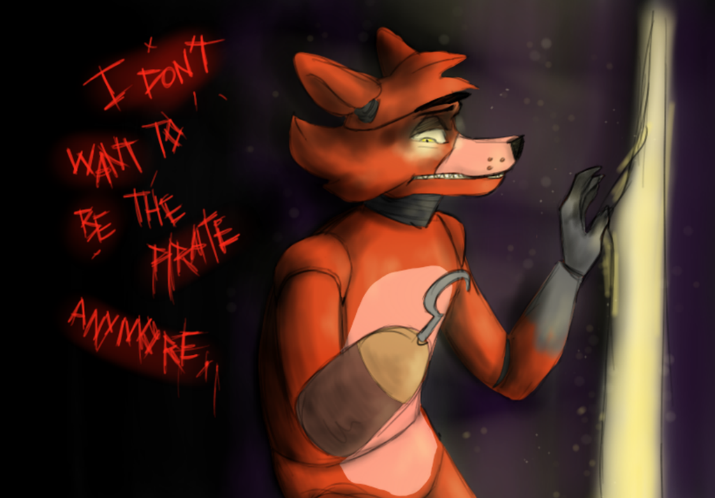 Fnaf foxy and the being the pirate by limegreenleaf on deviantart