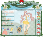 PTS - Camille Grace trainer card