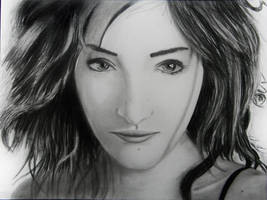 Susan Coffe fierce eyes. by NobodysXaos