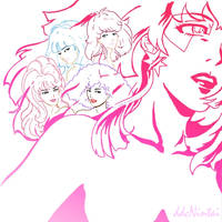 Jem and the Holograms:gradient