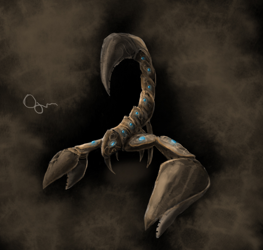 Scorpion arcana by Ojanassassin