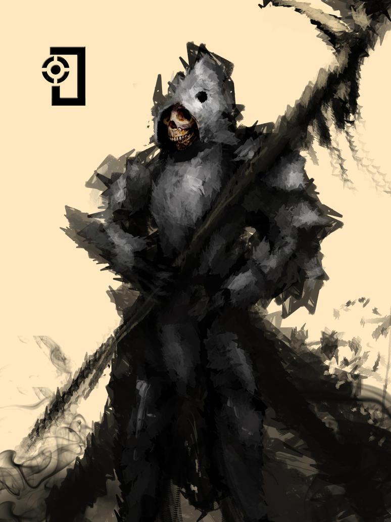Skuller knight by Ojanassassin