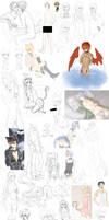 WIP/Sketchdump 2012 by utaemon