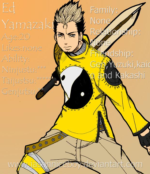 Naruto:E.Yamazki Profile By Jasonniceboy On DeviantArt