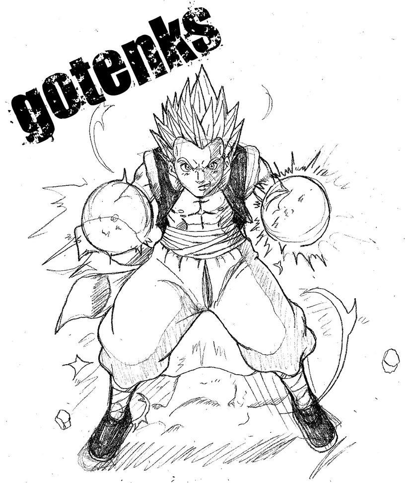 Dibujos faciles de dibujar de Dragon Ball Z - Imagui