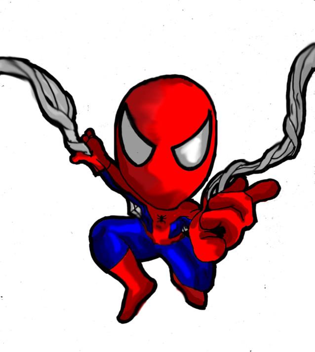 Cute Spiderman Chibi Chibi Spiderman by