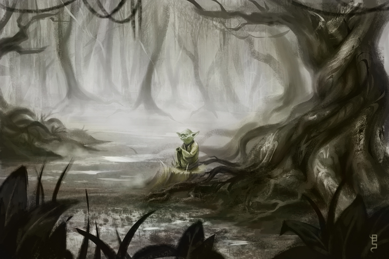 the swamp by schuhoku