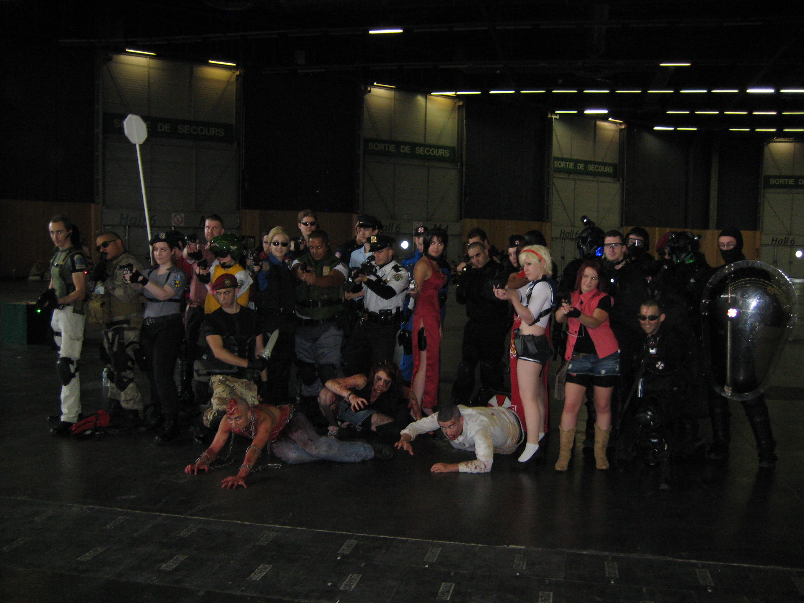 Cosplay Resident Evil japan expo 2014