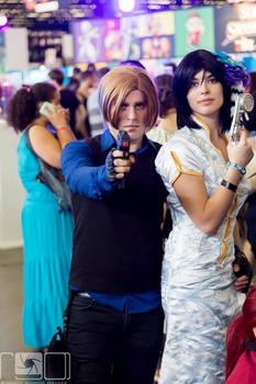 Cosplay Ada Wong - Leon S.Kennedy Japan Expo 2015