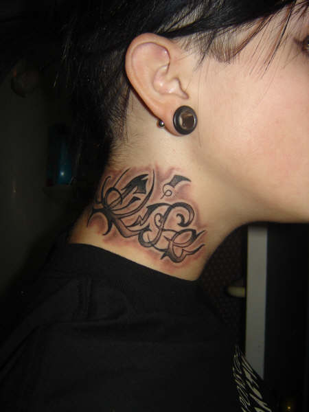 71511bfe4 My neck tattoo by pandaink on DeviantArt