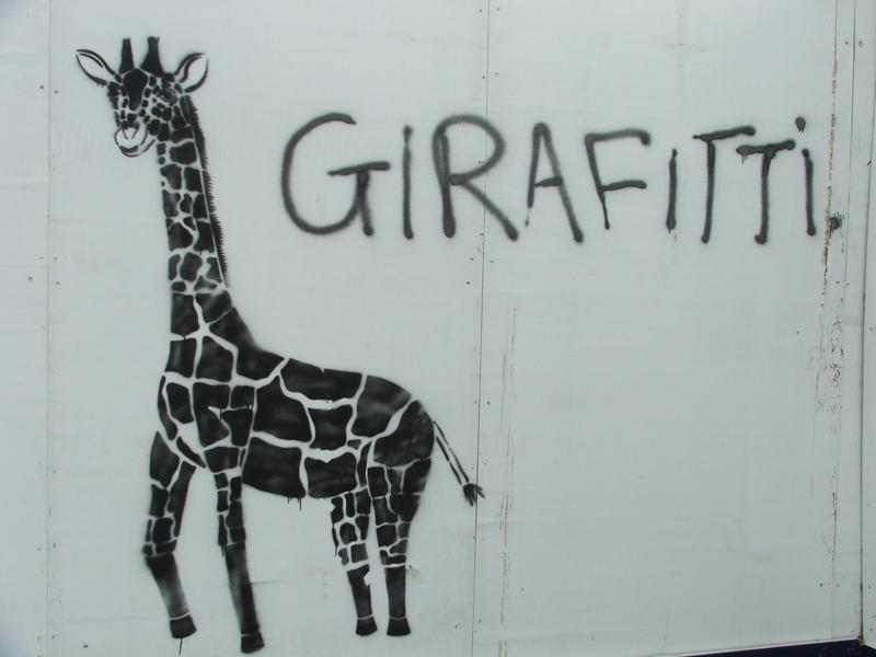 GIRAFITTI by aajb