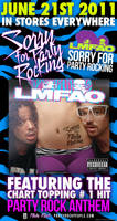 LMFAO Promo Release Poster by Super8Graphics