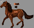 Horse Pixel by LarkoftheRiver