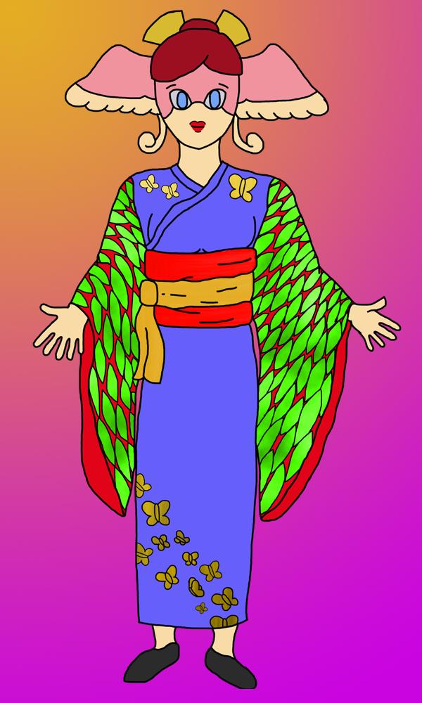 Rosetta Kimono by LemCrossview