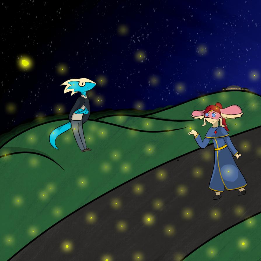Sherk Wanted a Butt-load of Fireflies. I Complied. by LemCrossview