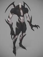 Alien Savage warrior by Feirun