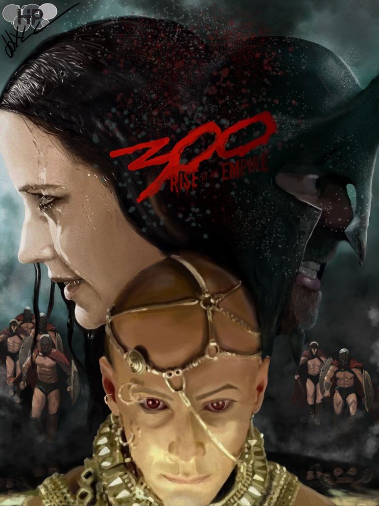 300 : Rise of an Empire fanart by Hardly-paradise